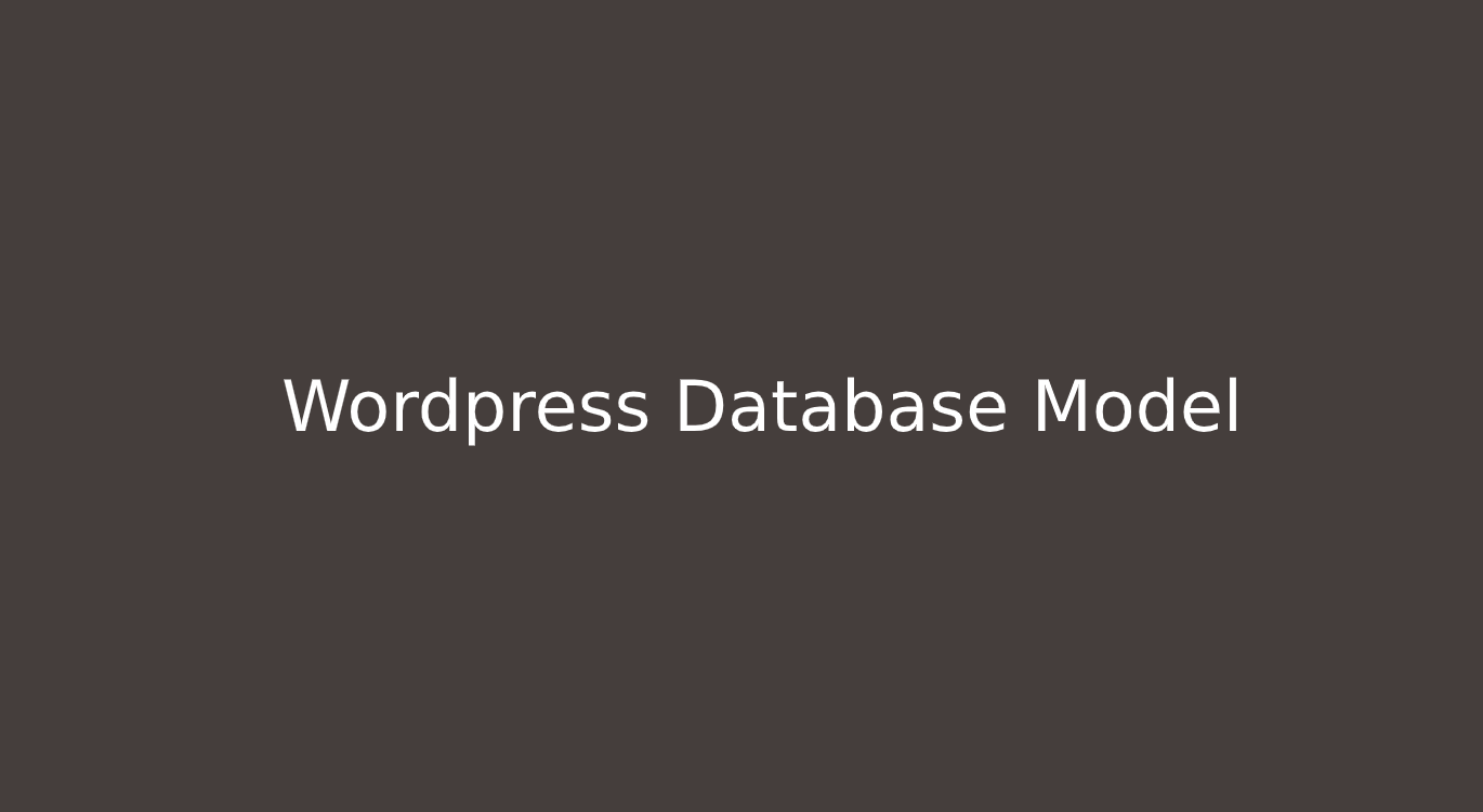 ERBuilder wordpress data-model