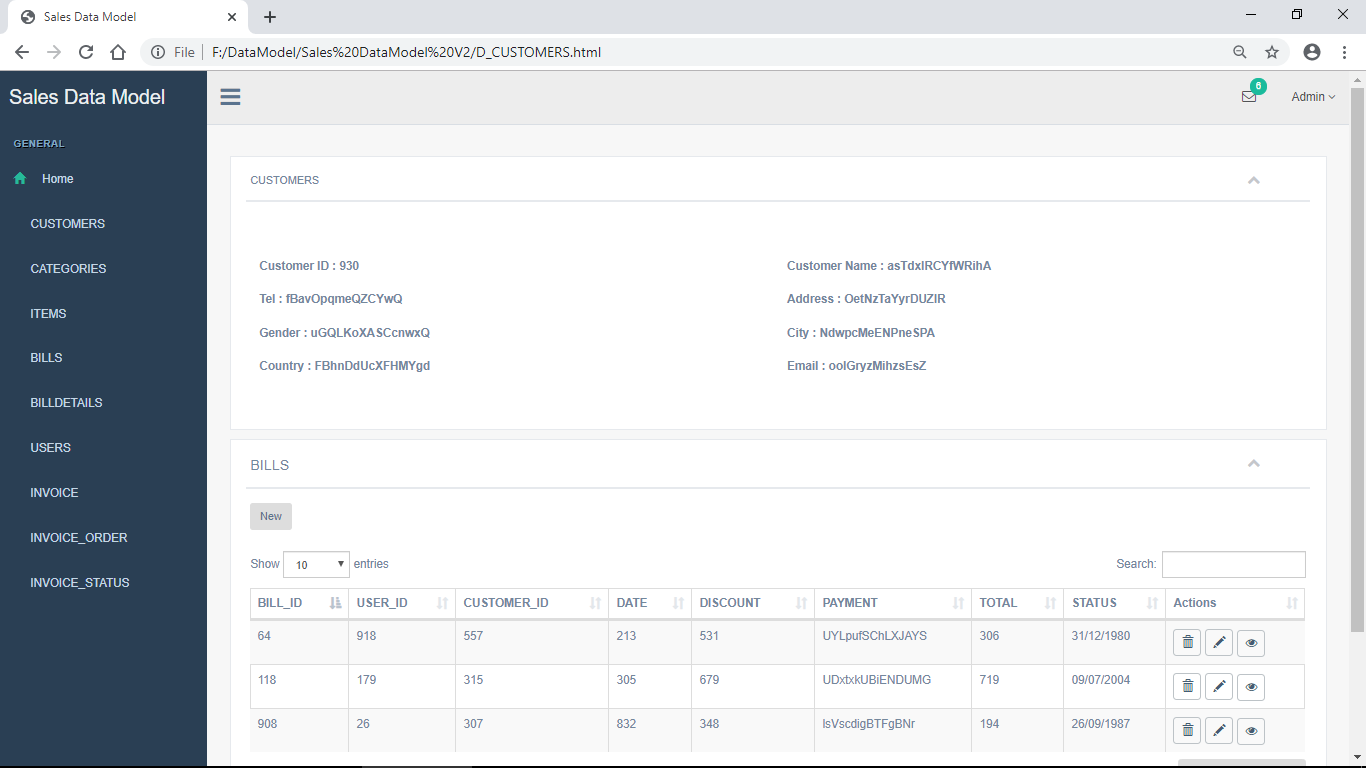 Generate HTML templates Screenshot-5