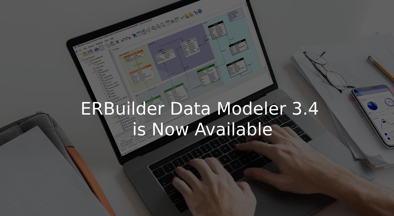 ERBuilder 3.4 schema synchronization