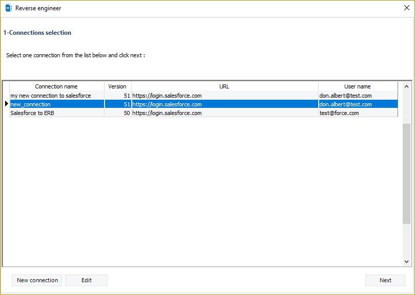 extract salesforce metadata erbuilder for salesforce