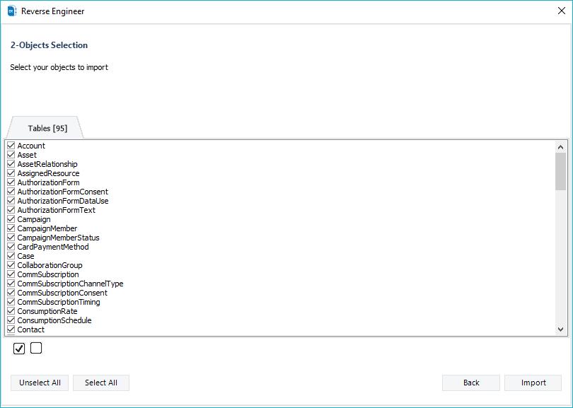 Salesforce data model ERBuilder for Salesforce