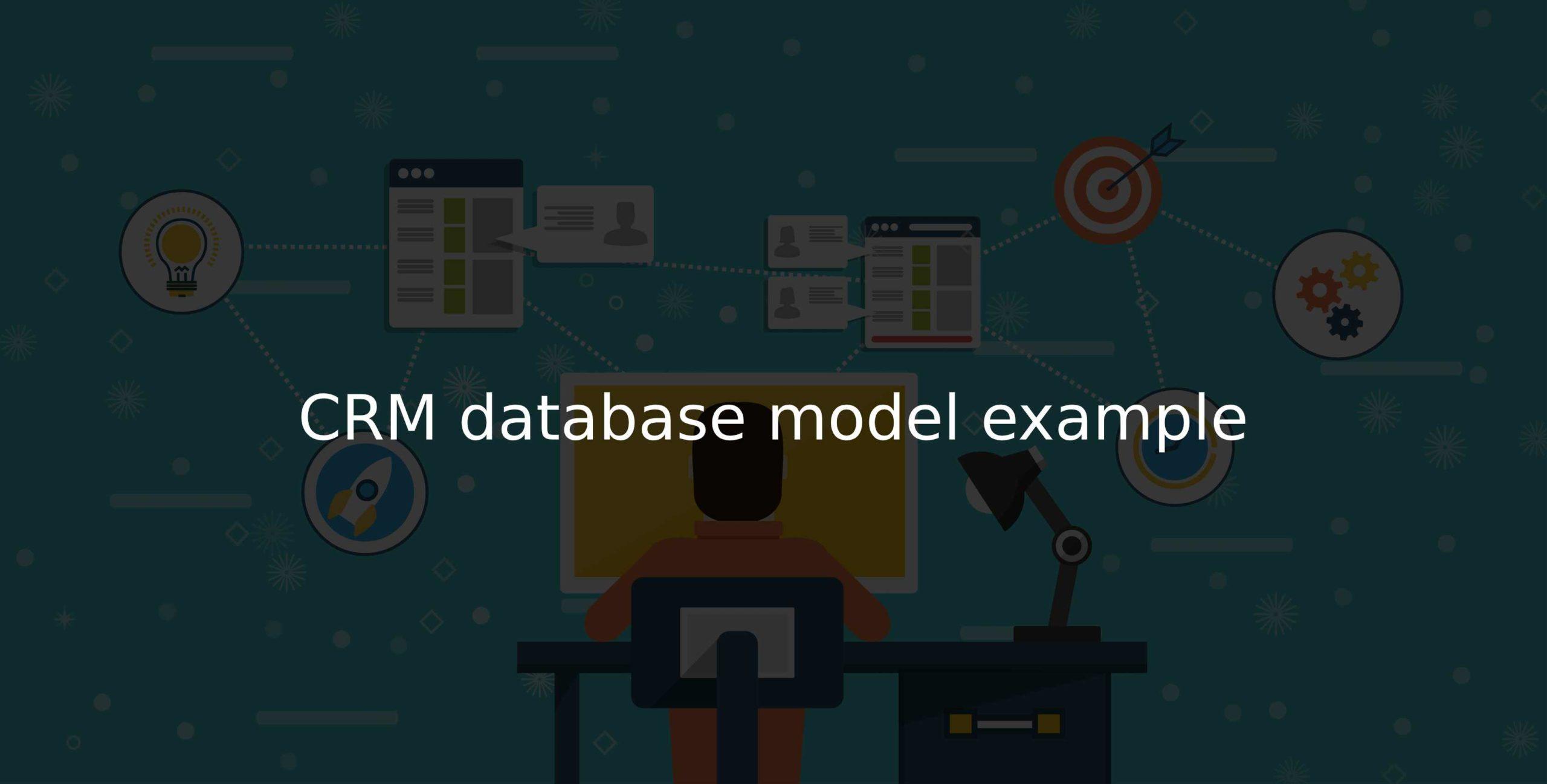 CRM database model thumb