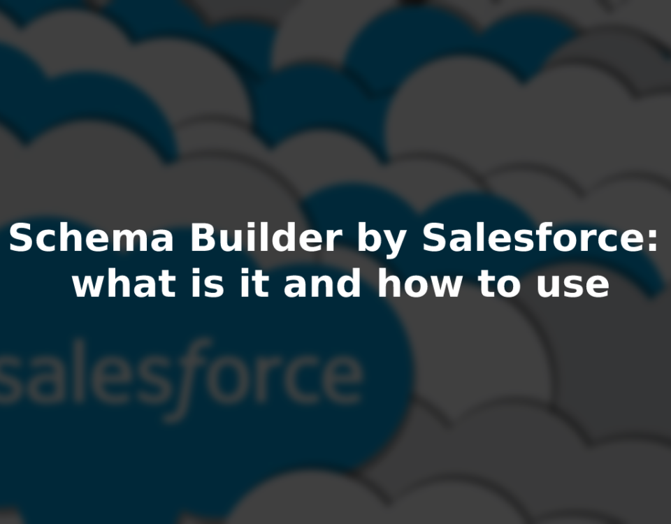 Schema Builder by Salesforce: what is it and how to use